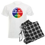 Autism symbol Men's Light Pajamas
