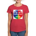 Autism symbol Women's Dark T-Shirt