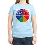 Autism symbol Women's Light T-Shirt