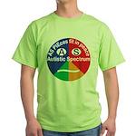 Autism symbol Green T-Shirt