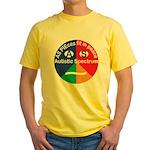 Autism symbol Yellow T-Shirt