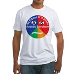 Autism symbol Fitted T-Shirt