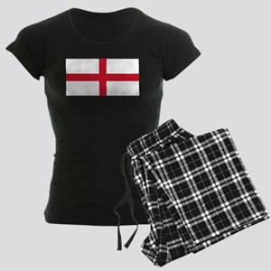 England St George's Cross Flag Women's Dark Pajama