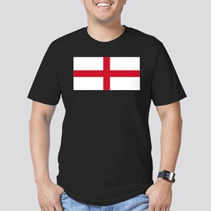 England St George's Cross Flag Men's Fitted T-Shir