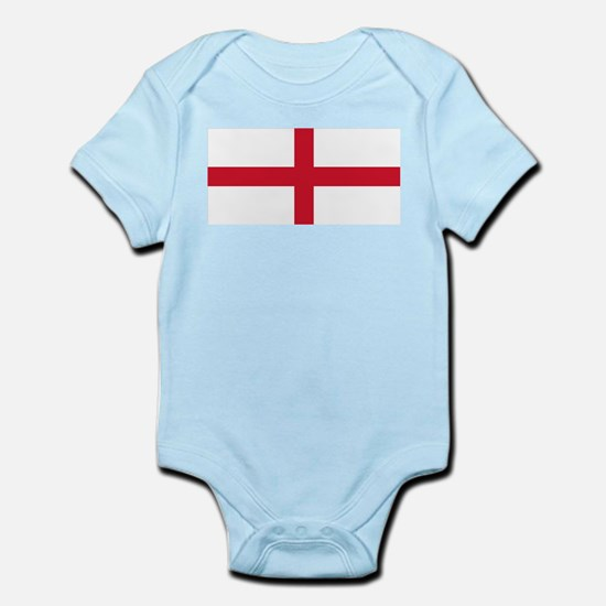 England St George's Cross Flag Infant Bodysuit