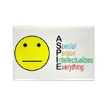 Autism symbol Rectangle Magnet (100 pack)