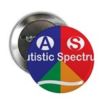 "Autism symbol 2.25"" Button (10 pack)"