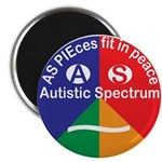 Autism Symbol Magnet Magnets