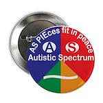 "Autism symbol 2.25"" Button"
