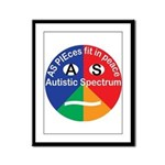 Autism symbol Framed Panel Print