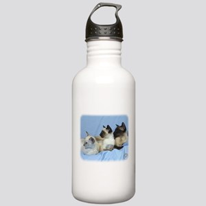 Siamese Cat 9W055D-074 Stainless Water Bottle 1.0L