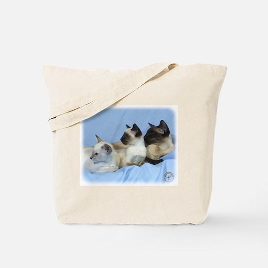 Siamese Cat 9W055D-074 Tote Bag