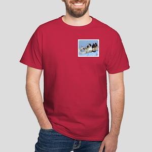 Siamese Cat 9W055D-074 Dark T-Shirt