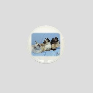 Siamese Cat 9W055D-074 Mini Button