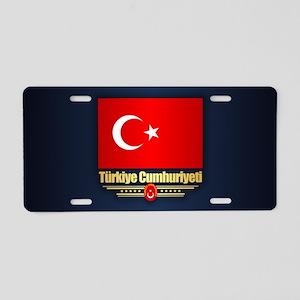 Turkish Pride Aluminum License Plate