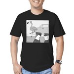 Balance Test (no text) Men's Fitted T-Shirt (dark)