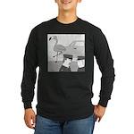 Balance Test (no text) Long Sleeve Dark T-Shirt
