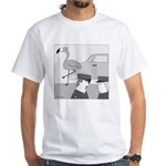 Balance Test (no text) White T-Shirt