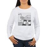 Balance Test (no text) Women's Long Sleeve T-Shirt