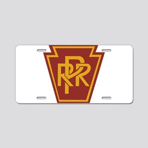 PRR 1 Aluminum License Plate