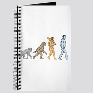 Human Evolution Walking Drawing Journal