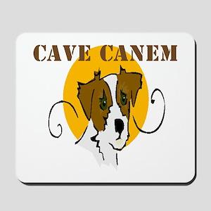 Cave Canem (Jack Russell) Mousepad
