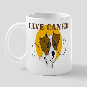 Cave Canem (Jack Russell) Mug