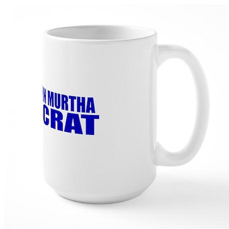 John Murtha Defeatocrat Large Mug
