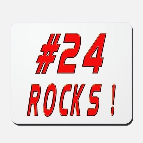24 Rocks ! Mousepad