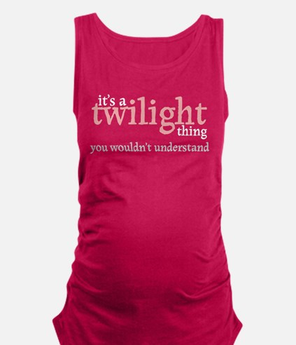 Its A Twilight Thing Tank Top