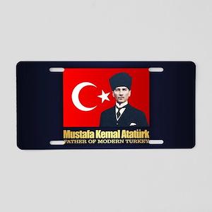 Ataturk Aluminum License Plate