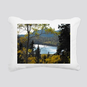 Pikes Peak Region Rectangular Canvas Pillow