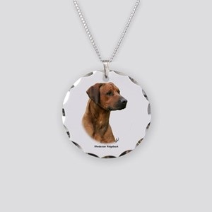 Rhodesian Ridgeback 9Y338D-044 Necklace Circle Cha