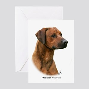 Rhodesian Ridgeback 9Y338D-044 Greeting Card