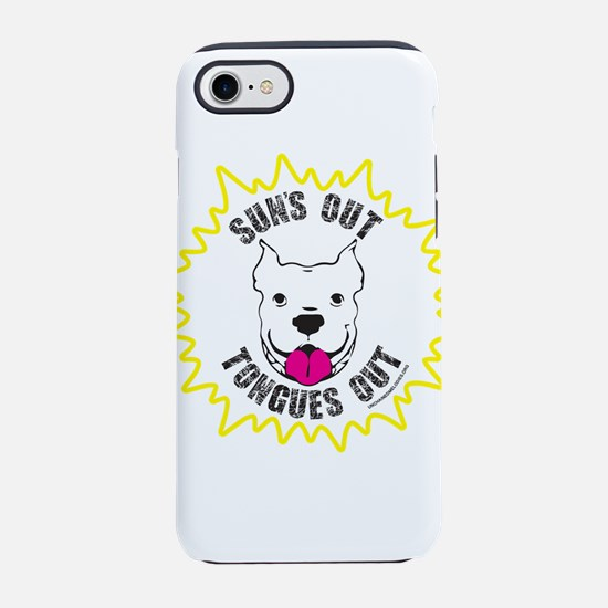 Sun's Out Tongues Out iPhone 7 Tough Case