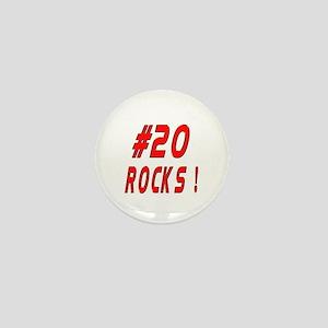 20 Rocks ! Mini Button