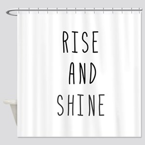 Rise and Shine Shower Curtain