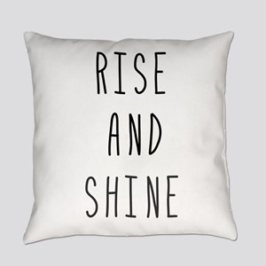 Rise and Shine Everyday Pillow