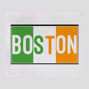 Irish Boston Throw Blanket