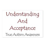 Autism Awareness Postcards (Package of 8)