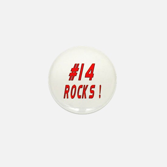 14 Rocks ! Mini Button