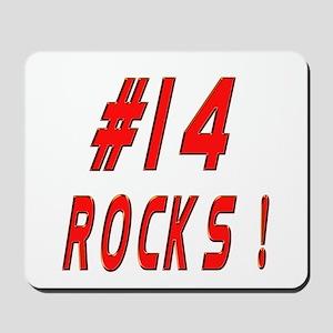 14 Rocks ! Mousepad