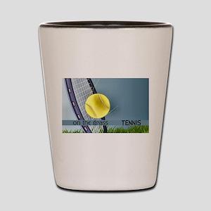 Tennis Shot Glass