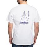Precision 27 White T-Shirt
