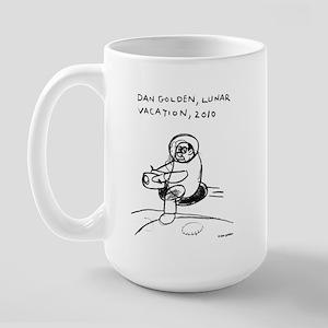 Lunar Vacation Large Mug