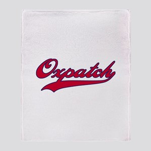 Oxpatch Throw Blanket