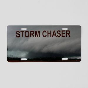 Alabama Tornadoes Aluminum License Plate