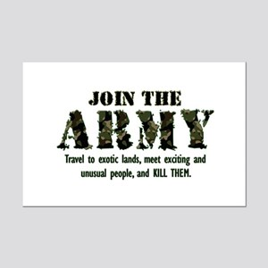 Join the Army Mini Poster Print