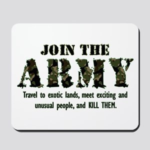 Join the Army Mousepad