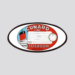 Cunard luggage tag Patch